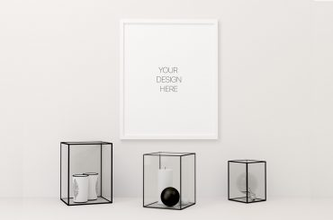 Clean Poster Frame Mockup