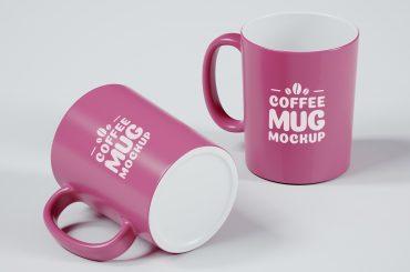 Two Coffee Mug Mockup