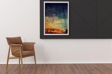 Minimal Interior Post Frame Mockup Design