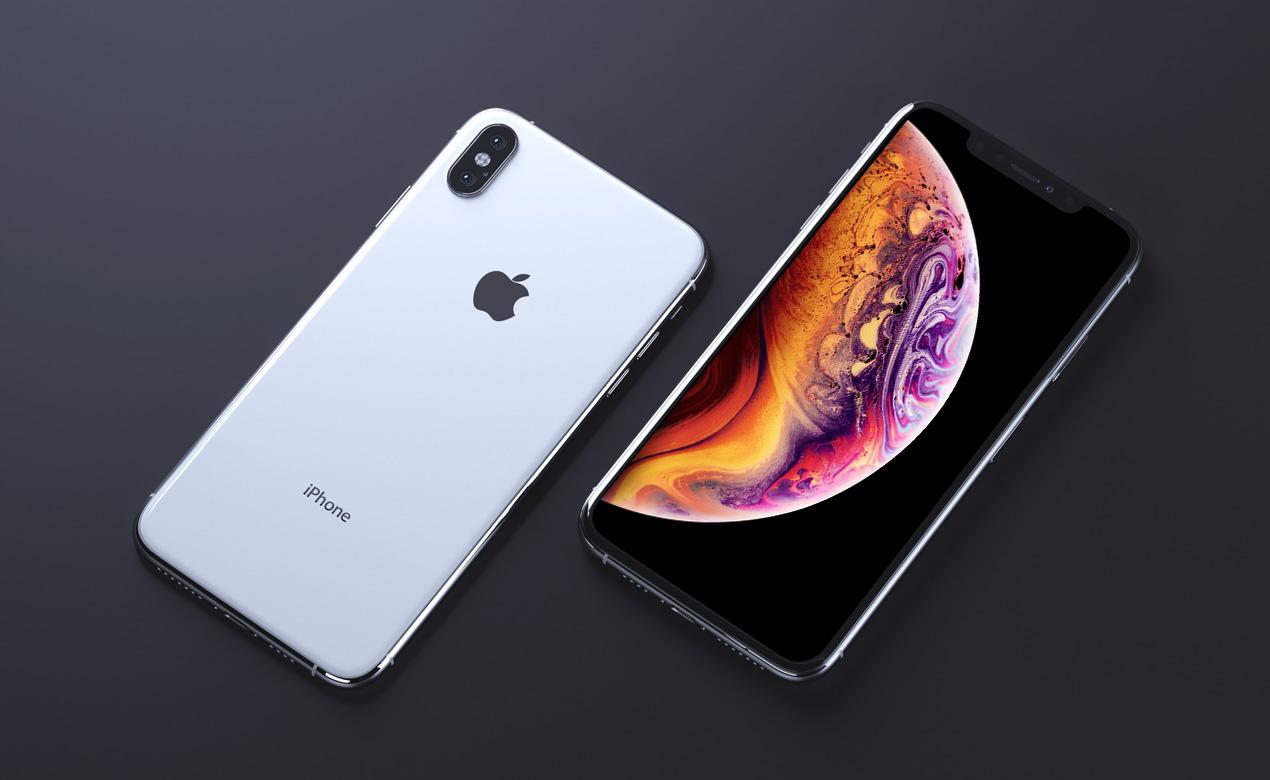 white iphone x mockup