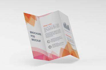 Brochure Print mockup