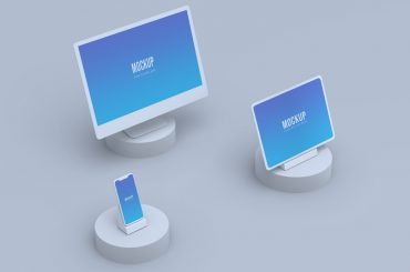 Devices Screens Mockup